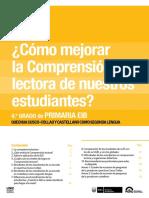 Cómo Mejorar La Comprensión Lectora de Nuestros Estudiantes 4o. Grado de Primaria EIB Informe Para El Director y El Docente. Quechua Cusco-Collao y Castellano Como Segunda Lengua