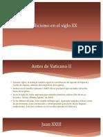 2° ppt Catolicismo en el s.XX.pdf