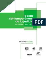 207 - Teorías Contemporáneas de La Justicia. Introducción y Notas Críticas - Vázquez, Rodolfo