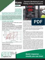 Dynamic Monitoring & Load Testing