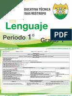 1. Lenguaje - 1° Periodo - I.E.T. Carlos Lleras Restrepo