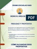 Presentación Del Programa Escuelas Faro de Lengua e.