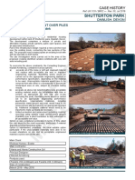 Case History for Use of Maccaferri Paralink High Strength Geogrid