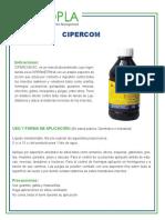 FICHE TECNICA CIPERCOM