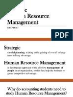 Chapter 5 - Strategic Human Resource Management