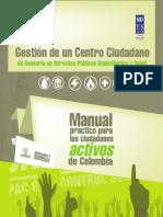Informe Derechos y Desarrollo Control Social
