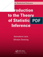 [Chapman & Hall_CRC Texts in Statistical Science] Liero, Hannelore_ Zwanzig, Silvelyn - Introduction to the Theory of Statistical Inference (2013, CRC Press)