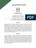 Informe 2 ELlectromagnetismo UD