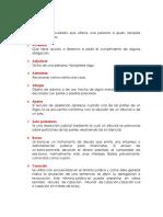 Glosario Clinica Civil 10!