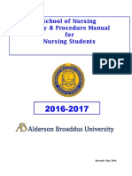 2016 2017 Policy and Procedure Manual