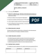 Seguimiento, Medicion y Evaluacion de Analisis