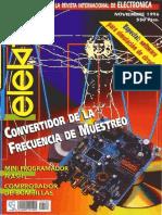 Elektor 198 (Nov 1996) Español