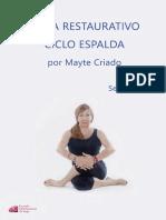 Yoga Restaurativo Espalda Secuencia 6
