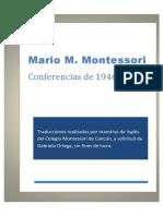 Mario M. Montessori - Conferencias