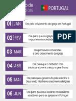 CalendarioOracao Portugal 2019
