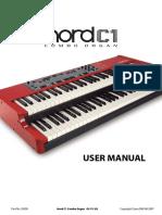 Nord C1 English User Manual v1.0x Edition 1.x