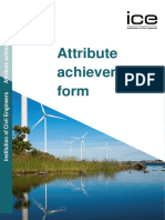 Attribute Achievement Form (1)