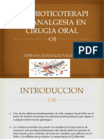 Antibioticoterapia y Analgesia en Cirugia Oral