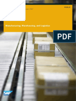Sap Bydesign 1702 Product Info Manufacturing Warehousing Logistics