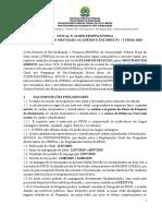Edital 2020 PDF
