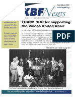 November 2010 KBF Newsletter