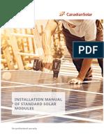 Manual de Instalação Paineis Solares Canadian
