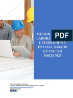 Metrologo Para Laboratorios de Calibración y Ensayo
