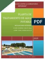 1. Planta de Tratamiento de Agua Potable