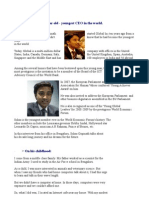 Suhas Gopinath 13 Year Old CEO