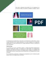 INFORME NEUMOLOGIAA bronquiectaasia