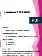 Windows Basics