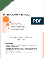 Integracion Vertical (Organizacion Industrial)