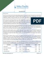 Sitka Pacific Capital Management September 2010 Client Letter