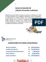 Presentación Póliza de Liberty Accidentes Personales Individual