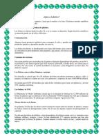 Educacion Ambiental Plastico