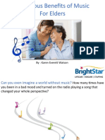 THE JOYOUS BENEFITS OF MUSIC.ppt