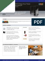 NETGEAR WNHDB3004 3DHD Wireless Home Theater Networking Kit Spec Sheet