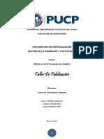 Propuesta de Intervención Didáctica - Sipiran, Karen- Sumar, Andrea- Tamariz, Jorge