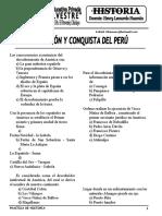 Practica de Invasion y conquista del Perú.doc