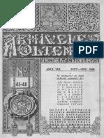 Arhivele olteniei 1929