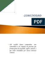 4. COMUNIDAD