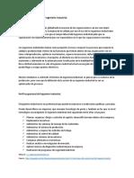 Campo y Que Hacer de La Ingeniería Industrial_Tarea3