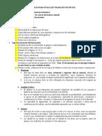 Criterios Para Evaluar Trabajos Escritos