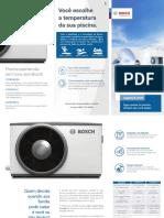 Folheto Bomba Calor Piscina Compress3000P Bosch