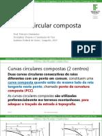 Aula 5 - Curva Circular Composta