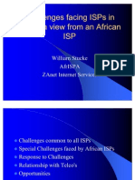 Challenges Facings ISPs in Africa