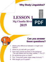 WhyStudyLinguistics lesson 1.ppt