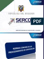 Normas Comunes de Los Procedimientos de Contratación y PACv4