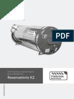 Manual Instalacao Aquecimento Solar Reservatorio K2