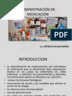 admistracion de medicamnetos